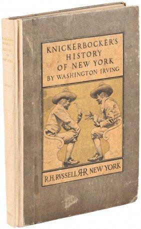 A History Of New York - Knickerbocker, 1900