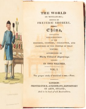 China In Miniature With 30 Color Plates 1823