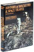 History of Rocketry & Space Travel signed by Von Braun