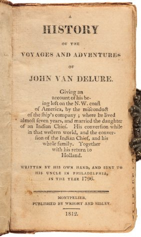 A History Of The Voyages And Adventures Of John Van