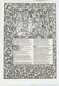 Arion Press Kelmscott leaf book
