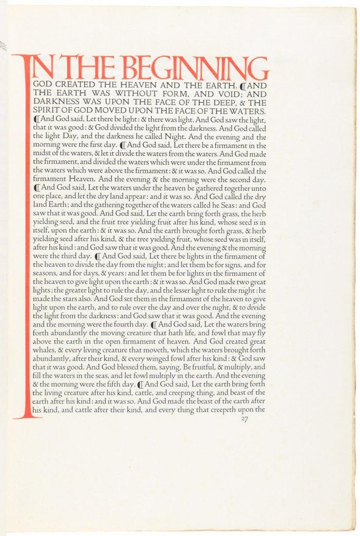 The Doves Press English Bible
