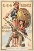 WWI patriotic poster by Leyendecker