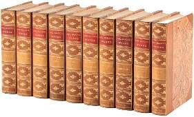 George Eliots Works in 10 leatherbound volumes