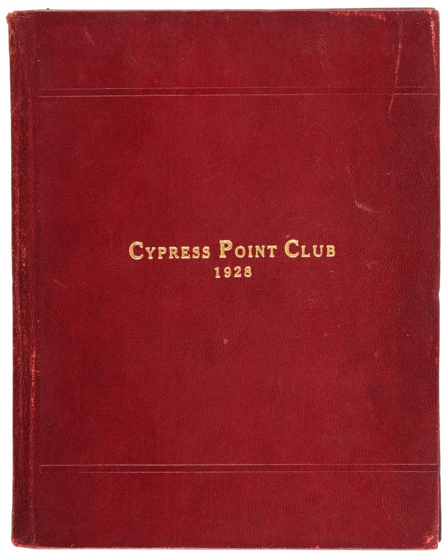 Cypress Point Constitution & By-Laws 1928