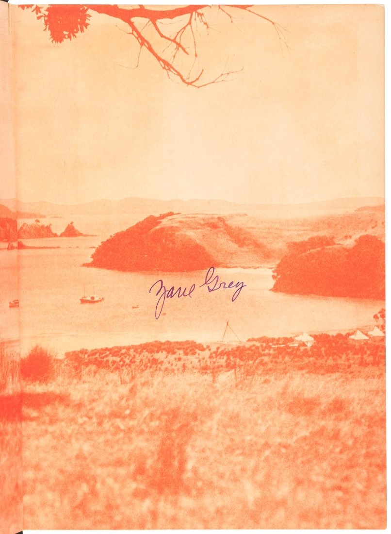 Zane Grey, Tales of the Angler's Eldorado, Signed - 3