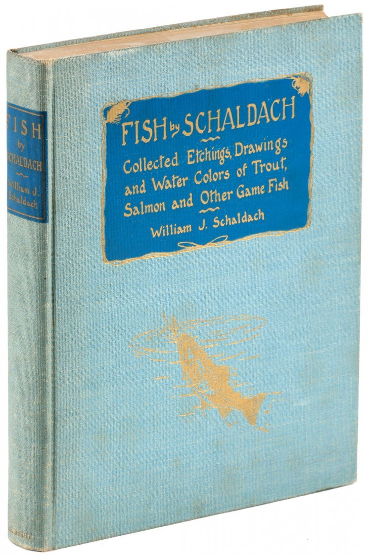 Fish by Schaldach: Collected Etchings, Drawings and