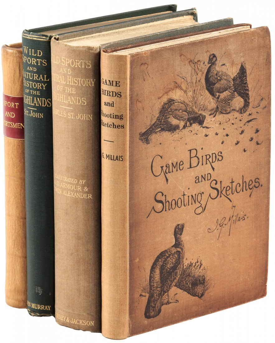 Four volumes on sporting