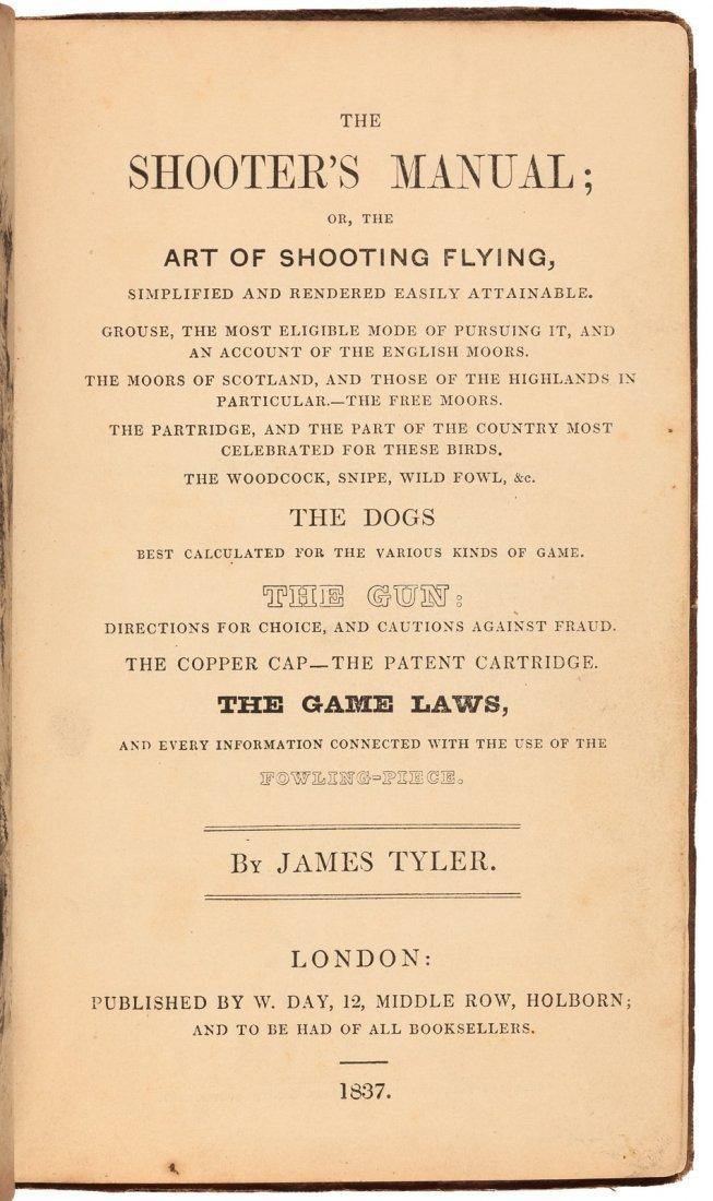 The Shooter's Manual, 1837, rare
