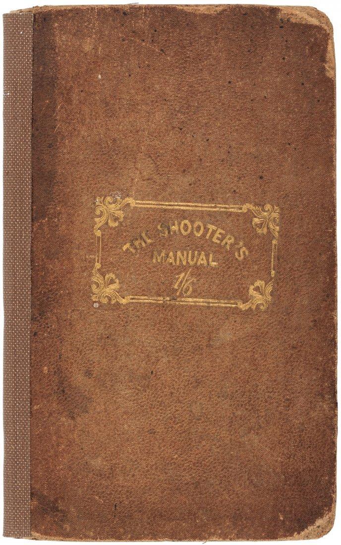 The Shooter's Manual, 1837, rare - 2