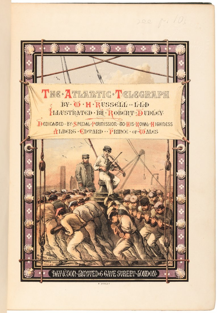 W.H. Russell The Atlantic Telegraph