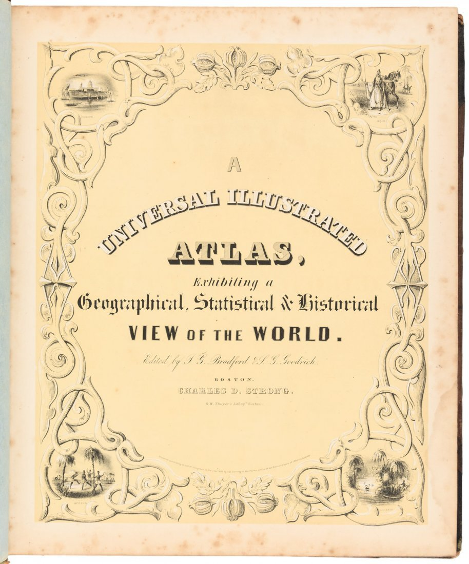American Atlas TG Bradford 1842 - 3