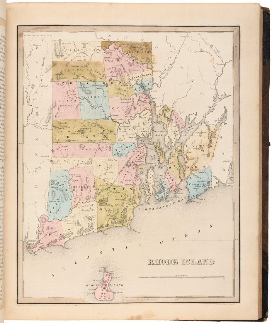 American Atlas TG Bradford 1842 - 5