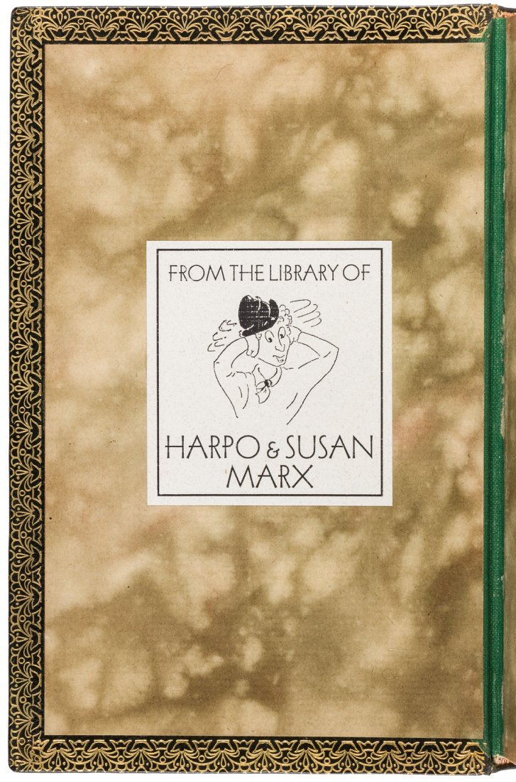 Two from Harpo Marx's library