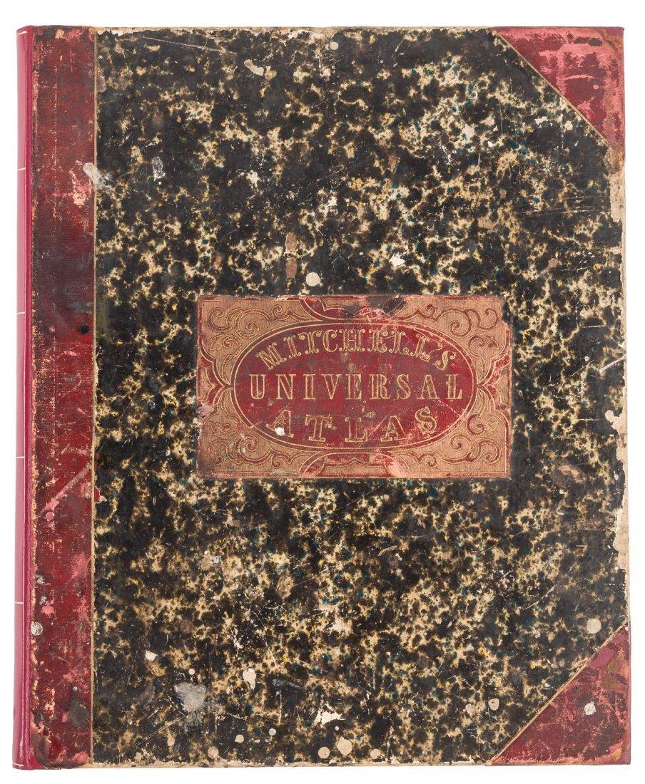 Mitchell's New Universal Atlas 1847