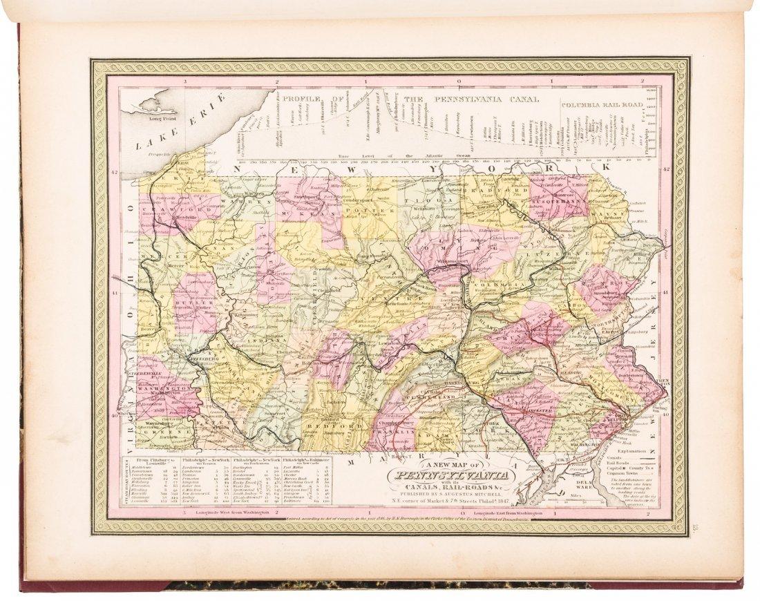 Mitchell's New Universal Atlas 1847 - 2