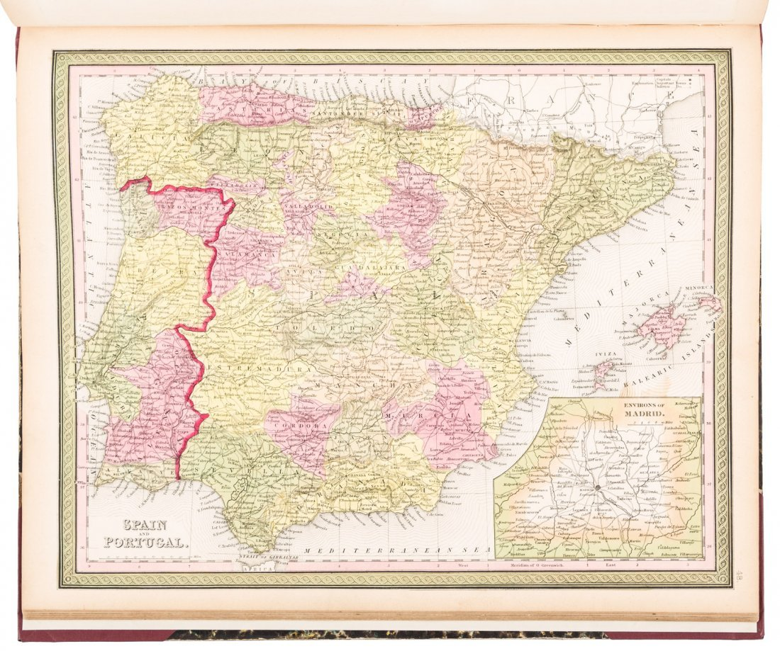 Mitchell's New Universal Atlas 1847 - 4