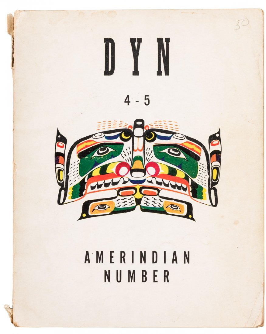 Scarce periodical on Native American art