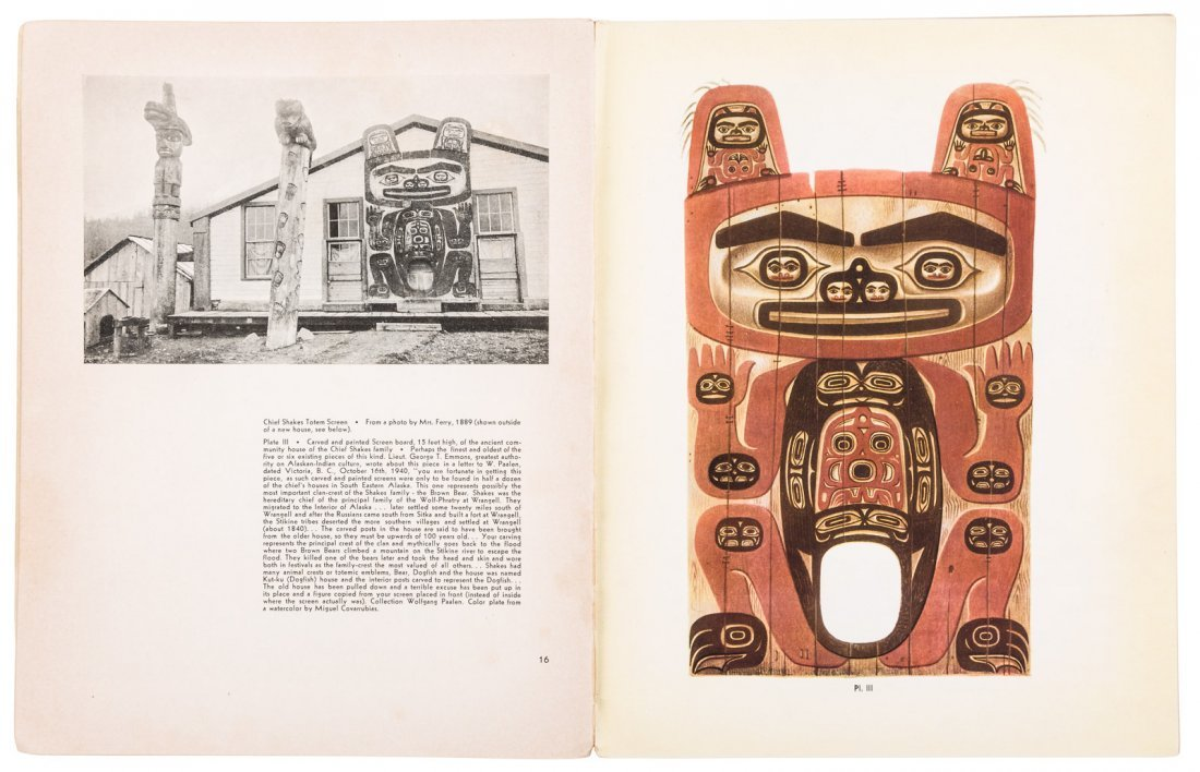 Scarce periodical on Native American art - 2