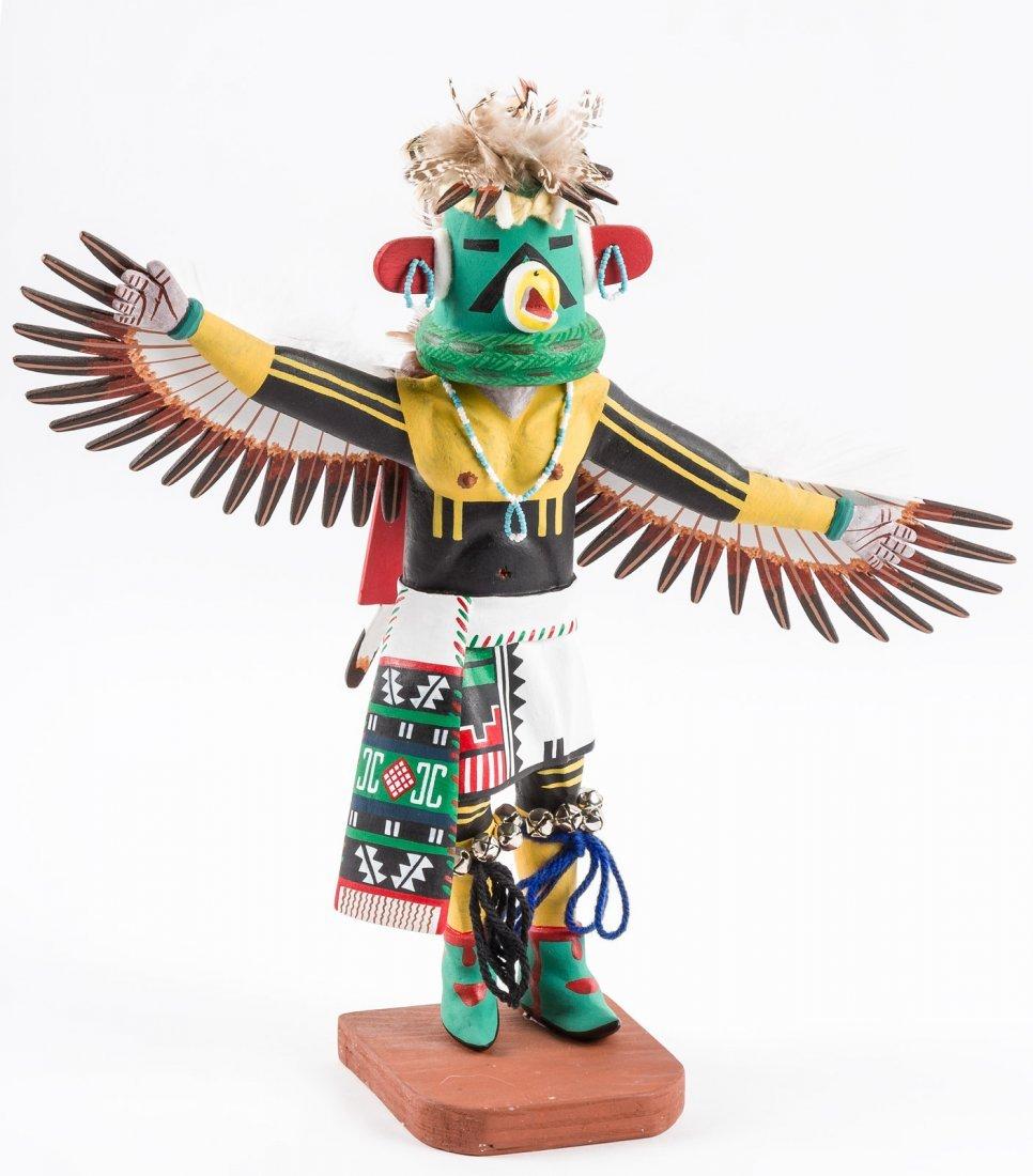 Eagle Dancer Kachina by Henry Shelton