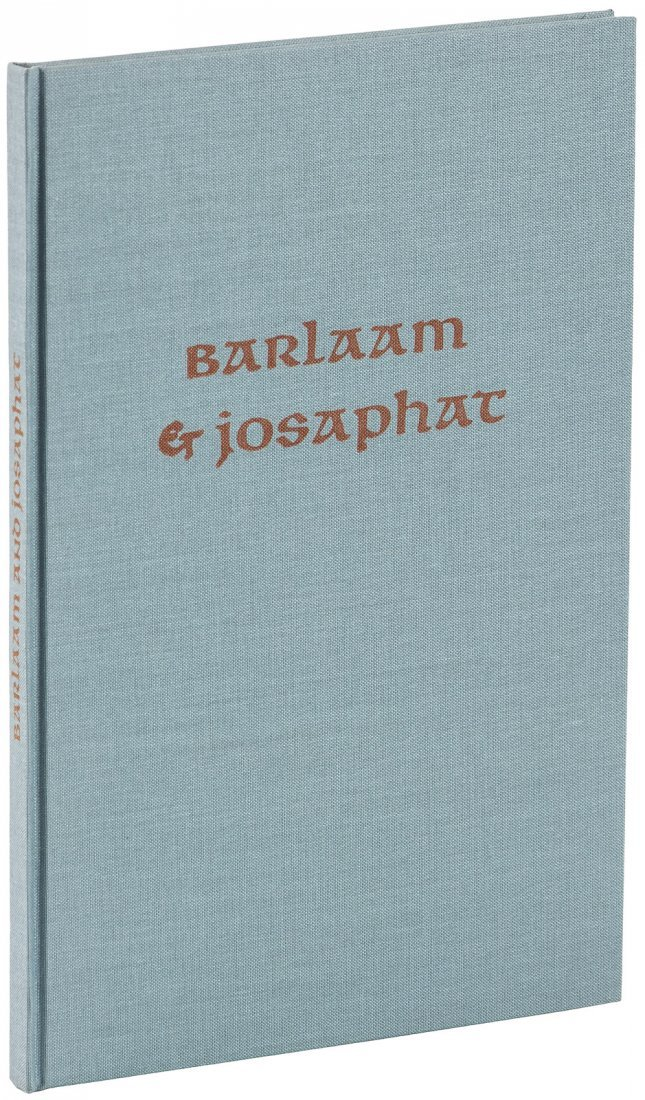 Allen Press, Barlaam & Josaphat, 1/140 copies