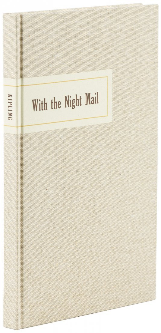 Rudyard Kipling With the Night Mail Arion Press