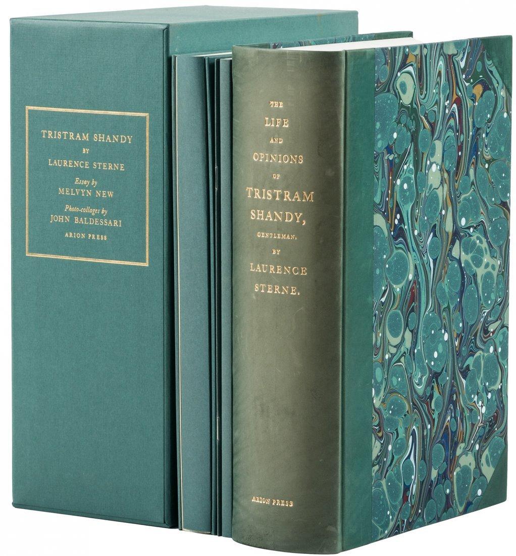 Arion Press Tristam Shandy 1 of 400 copies