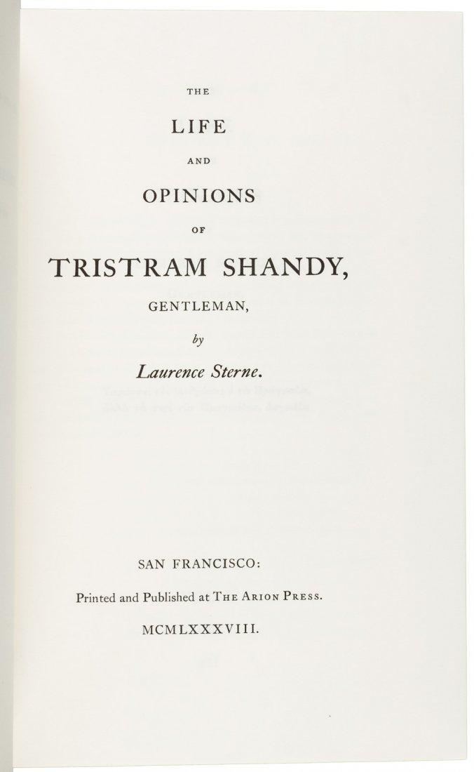 Arion Press Tristam Shandy 1 of 400 copies - 2