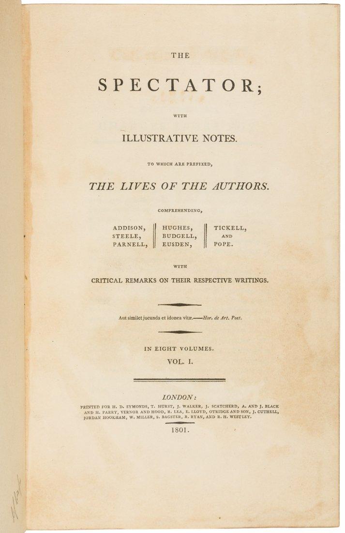 Addison & Steele the Spectator 1822 edition - 2