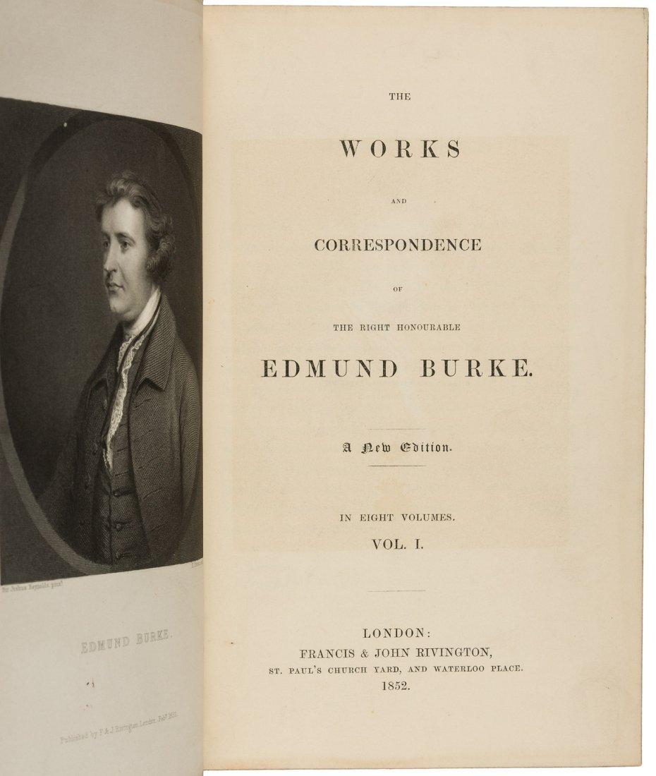Edmund Burke's Writings and Correspondence - 2