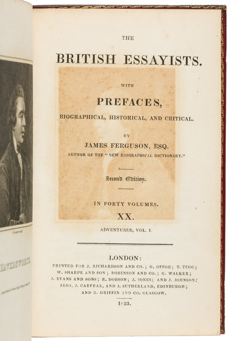 The British Essayists in 40 finely bound volumes - 4