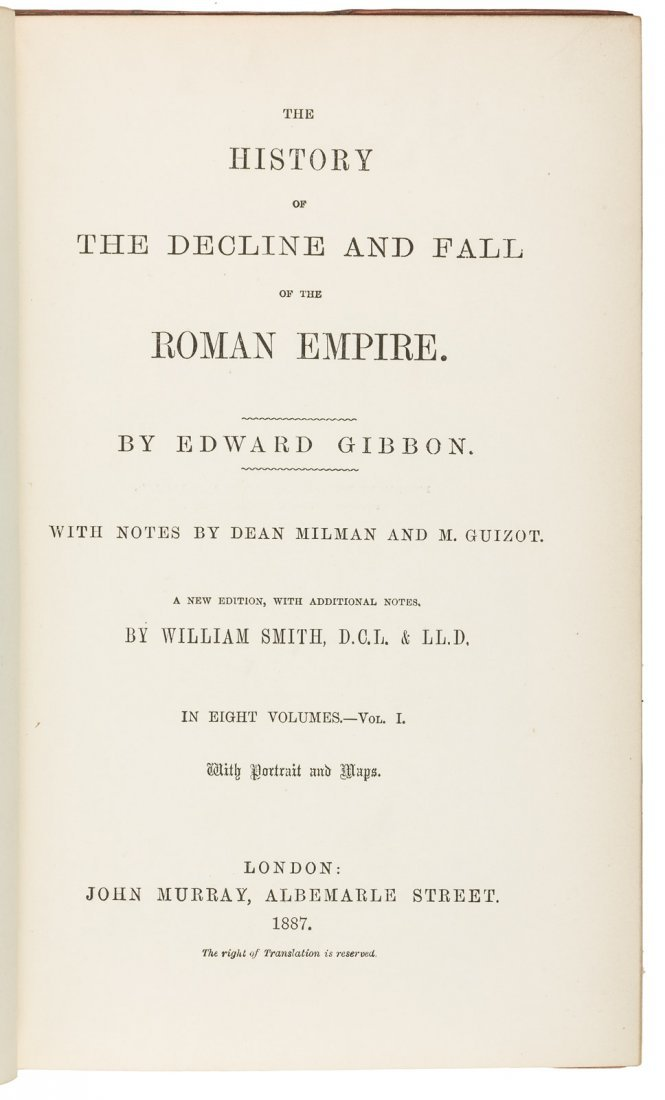 Gibbon's Decline and Fall of the Roman Empire - 2
