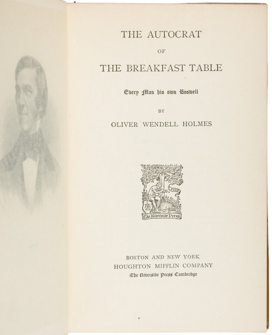 Collected Works of Oliver Wendell Holmes - 2