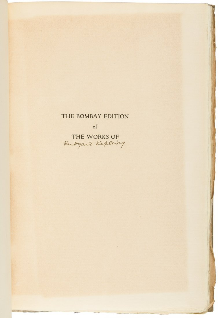 The Bombay Edition of the Works of Rudyard Kipling - 2