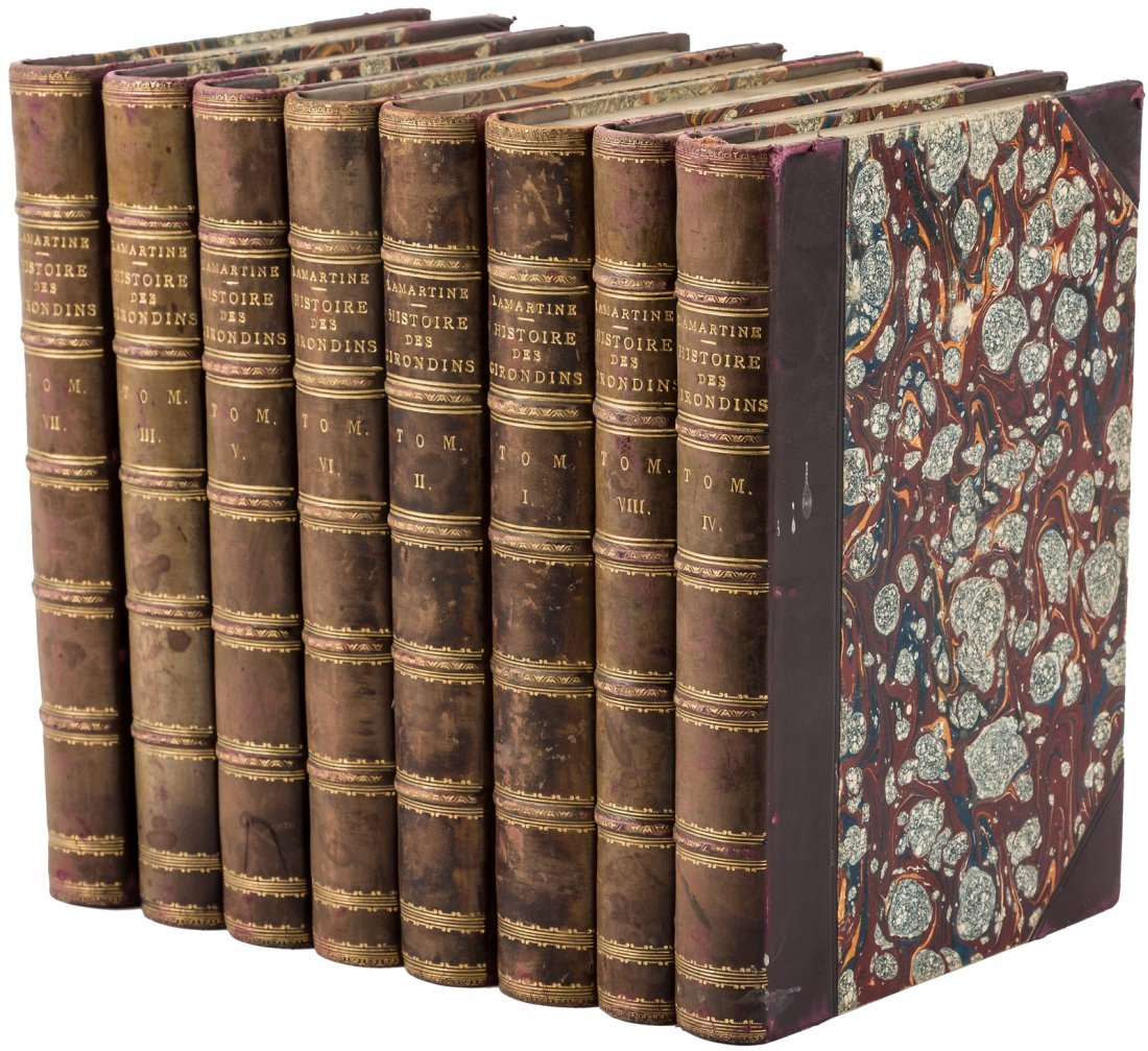Lamartine Histoire des Girondins