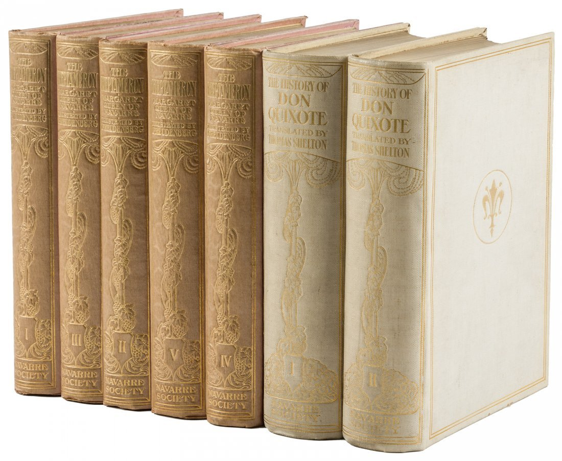 Two sets from the Navarre Society