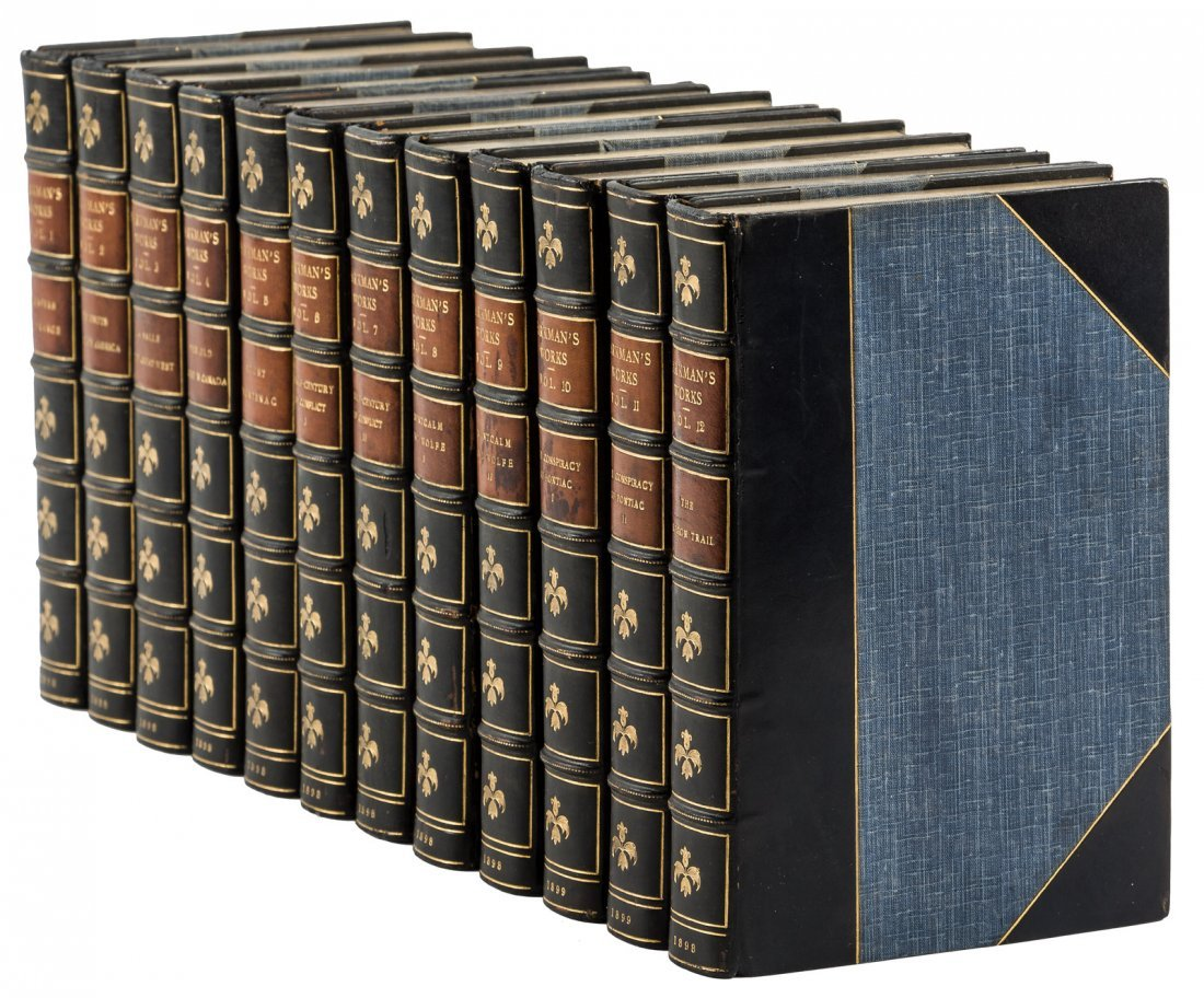 Francis Parkman's Works nicely bound