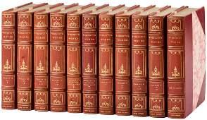 Works of WH Prescott finely bound