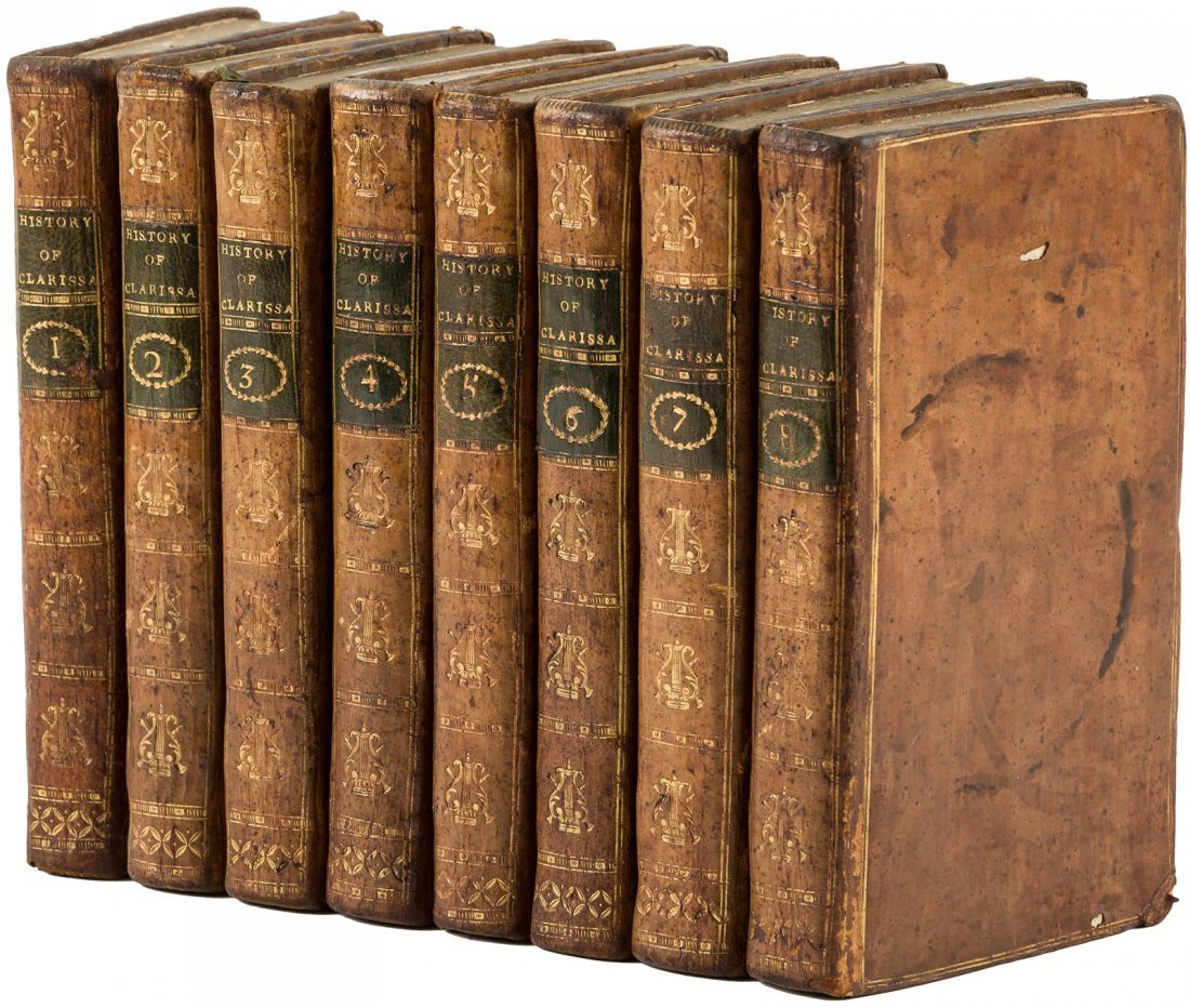 Clarissa Or the History of a Young Lady 1785