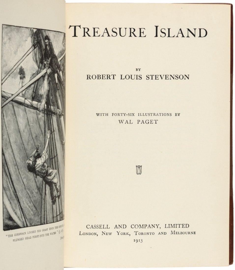 Works of R.L. Stevenson finely bound - 2