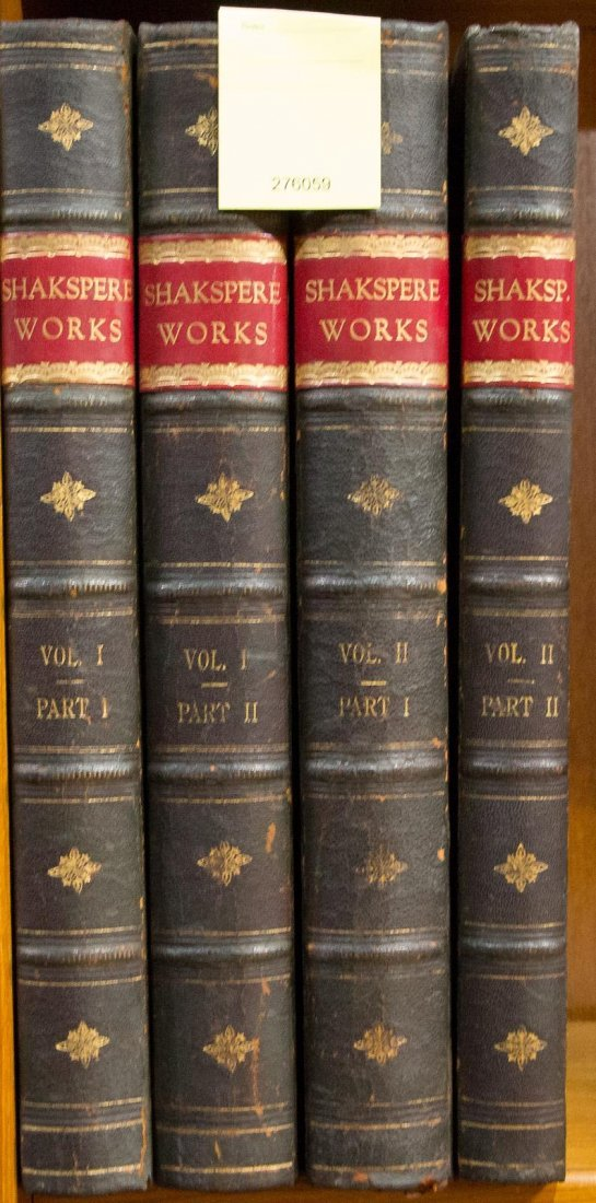 Works of Shakespeare, Volumes 1 and 2