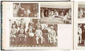 Photo albums of British life in Indian 1914