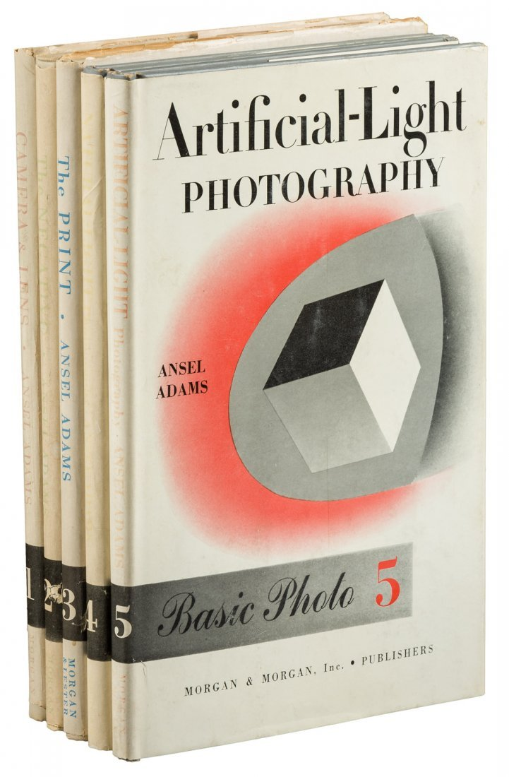 Ansel Adams Basic Photo Series 5 signed volumes