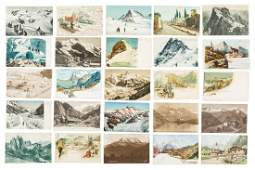 Collection of Mountaineering postcards