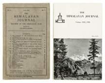 Himalayan Journal , 30 volumes