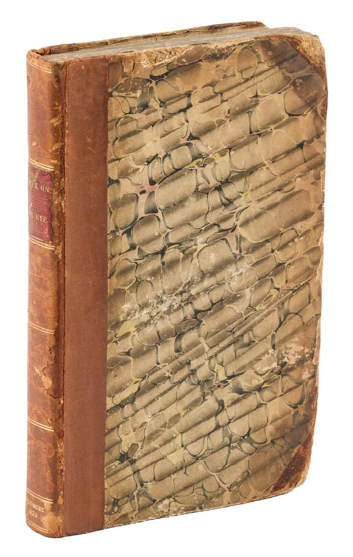 Harvey Cushing's Copy of Frick's Treatise on the Eye