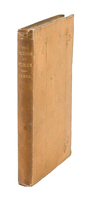 John Stuart On The Subjection Of Women 1st Edition