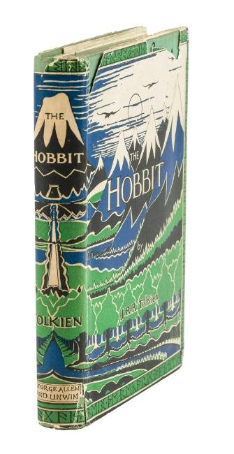 J.R.R. Tolkien's The Hobbit First English Edition in