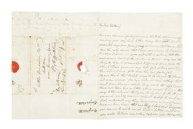 1777 Letter from Paris on Benjamin Franklin as American