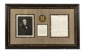 William Henry Harrison Autograph Letter Signed 1828